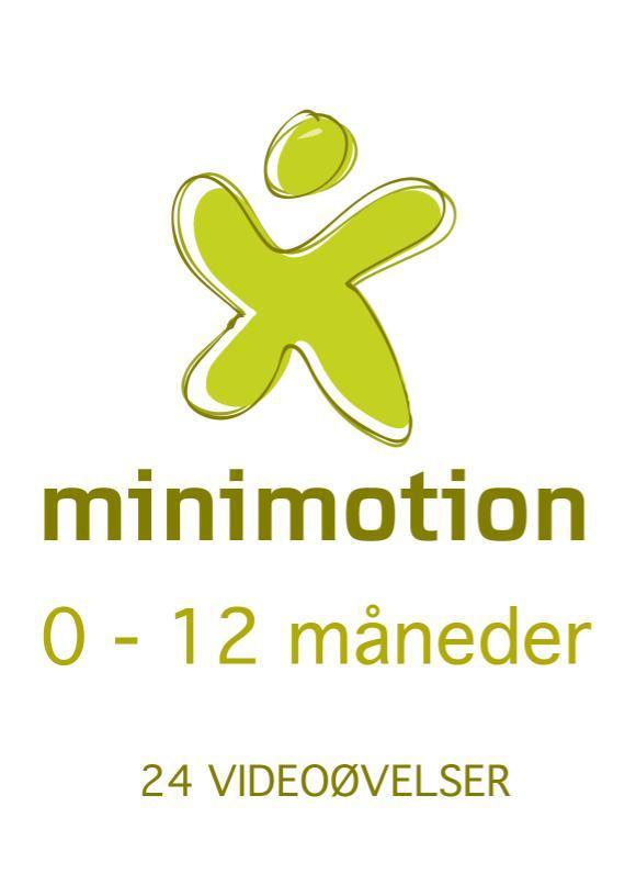 Minimotion - køb alle 24 videoer med lege til dig og din baby 0-12 måneder fra N/A på mindly.dk