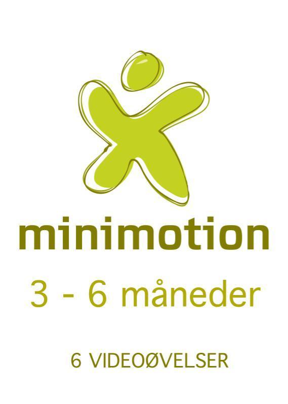 N/A – Minimotion 3-6 måneder - nemme lege og øvelser til dig og din baby på mindly.dk
