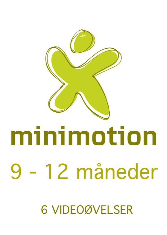 Minimotion 9-12 måneder - nemme lege og øvelser til dig og din baby fra N/A fra mindly.dk