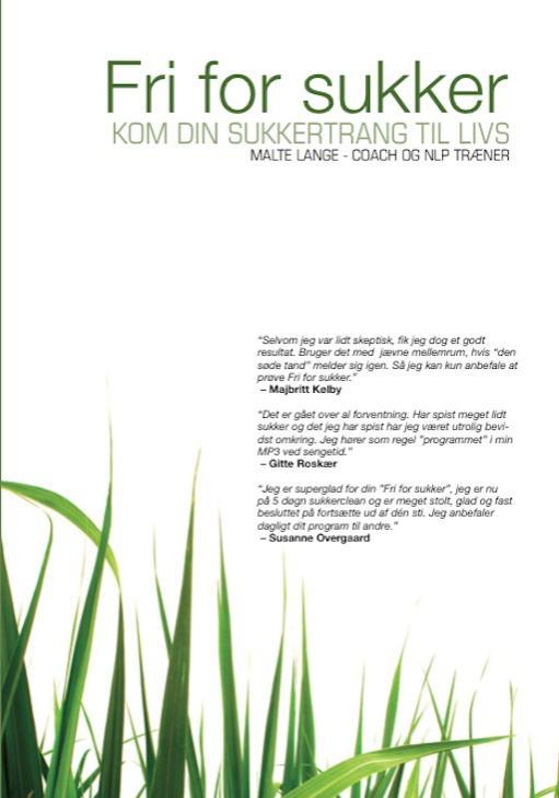 N/A Fri for sukker - sukkerafvænning fra mindly.dk