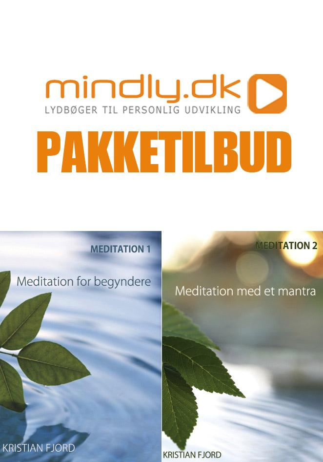 Image of   Meditation for begyndere og Meditation med et mantra (Pakketilbud)