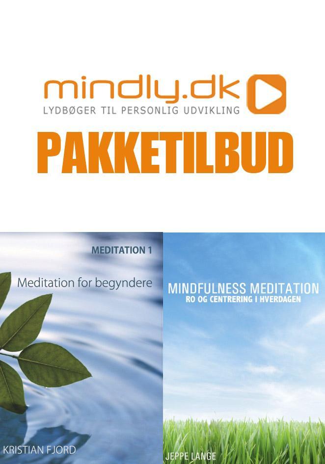Mindfulness meditation + meditation for begyndere (pakketilbud) fra N/A fra mindly.dk