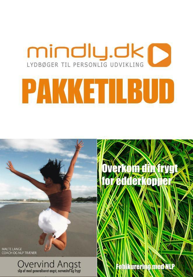 Overvind angst + araknofobi (pakketilbud) fra N/A fra mindly.dk
