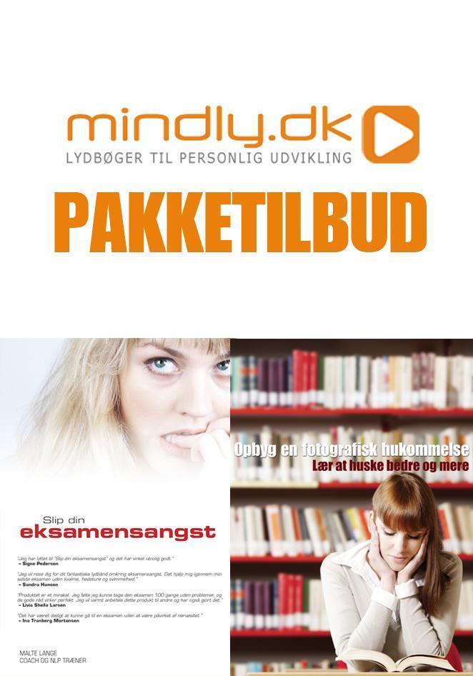 N/A Slip din eksamensangst + opbyg en fotografisk hukommelse (pakketilbud) fra mindly.dk