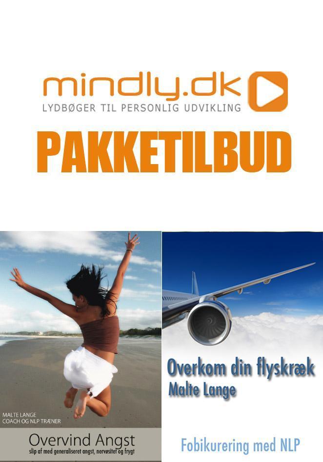 N/A Overvind din flyskræk + overvind din angst (pakketilbud) fra mindly.dk