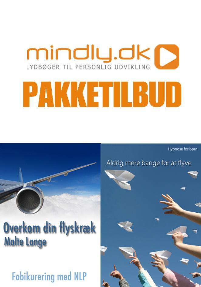 N/A – Overkom din flyskræk + aldrig mere bange for at flyve (familiepakken) fra mindly.dk