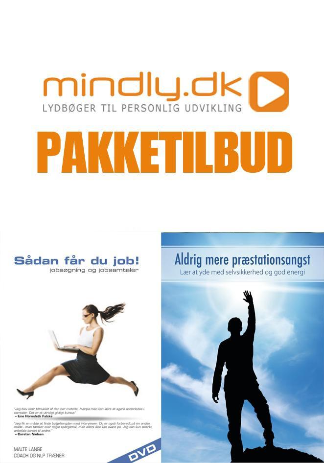 N/A – Sådan får du job + aldrig mere præstationsangst (pakketilbud) fra mindly.dk