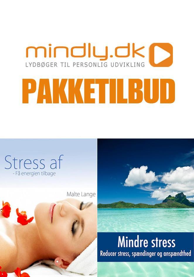 Stress af + mindre stress (pakketilbud) fra N/A på mindly.dk