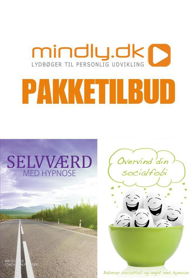 Selvværd med hypnose + overvind din socialfobi (pakketilbud) fra N/A fra mindly.dk