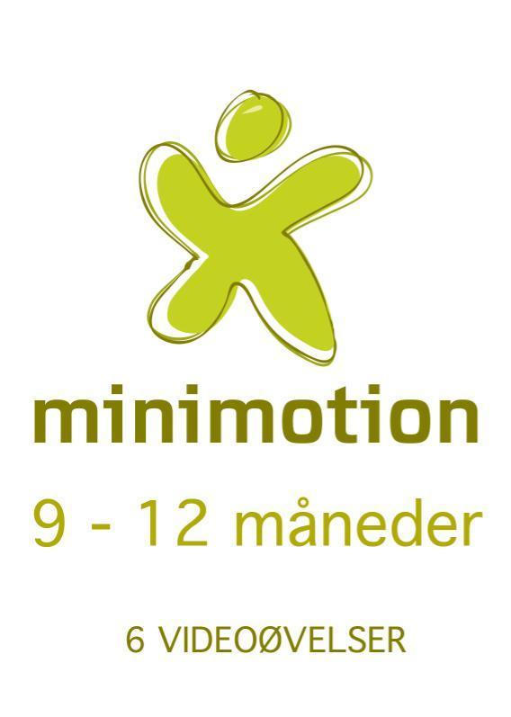 Billede af Minimotion 9-12 måneder - nemme lege og øvelser til dig og din baby