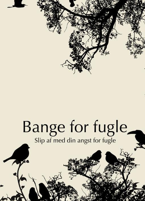 Image of   Bange for fugle - Aldrig mere angst for fugle