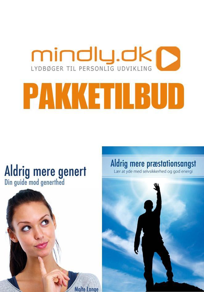 Image of   Aldrig mere genert + Aldrig mere præstationsangst (Pakketilbud)