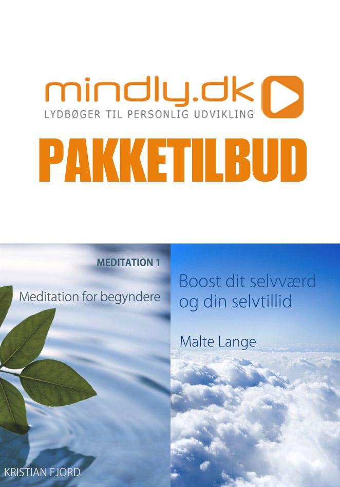 Image of   Meditation 1 + Boost dit selvværd (Pakketilbud)