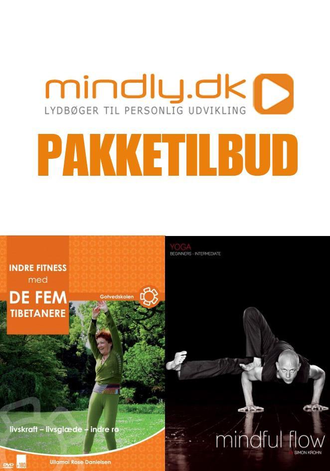 Image of   Mindful Flow + Indre fitness med de fem tibetanere (Pakketilbud)