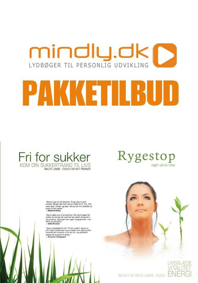 Image of   Rygestop Hypnose + Fri for sukker (Pakketilbud)