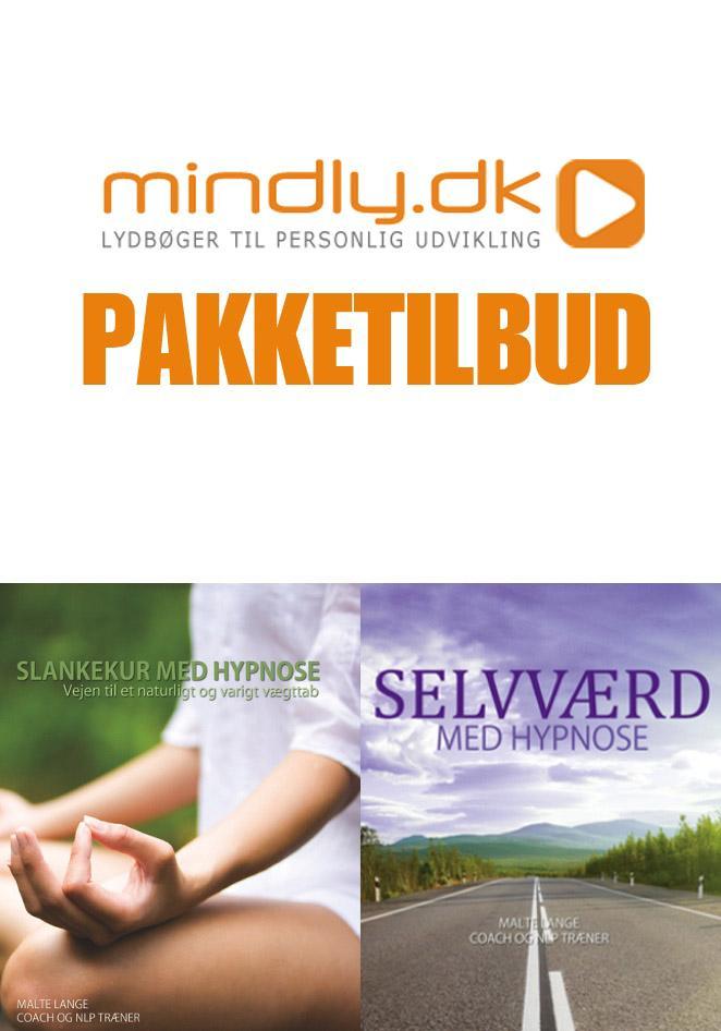 Image of   Selvværd med hypnose + Slankekur med hypnose (Pakketilbud)