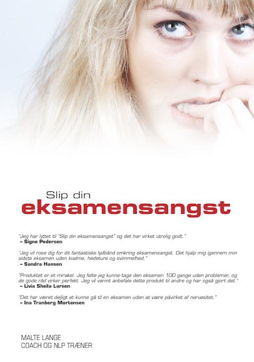 Image of   10 x Slip din eksamensangst CD
