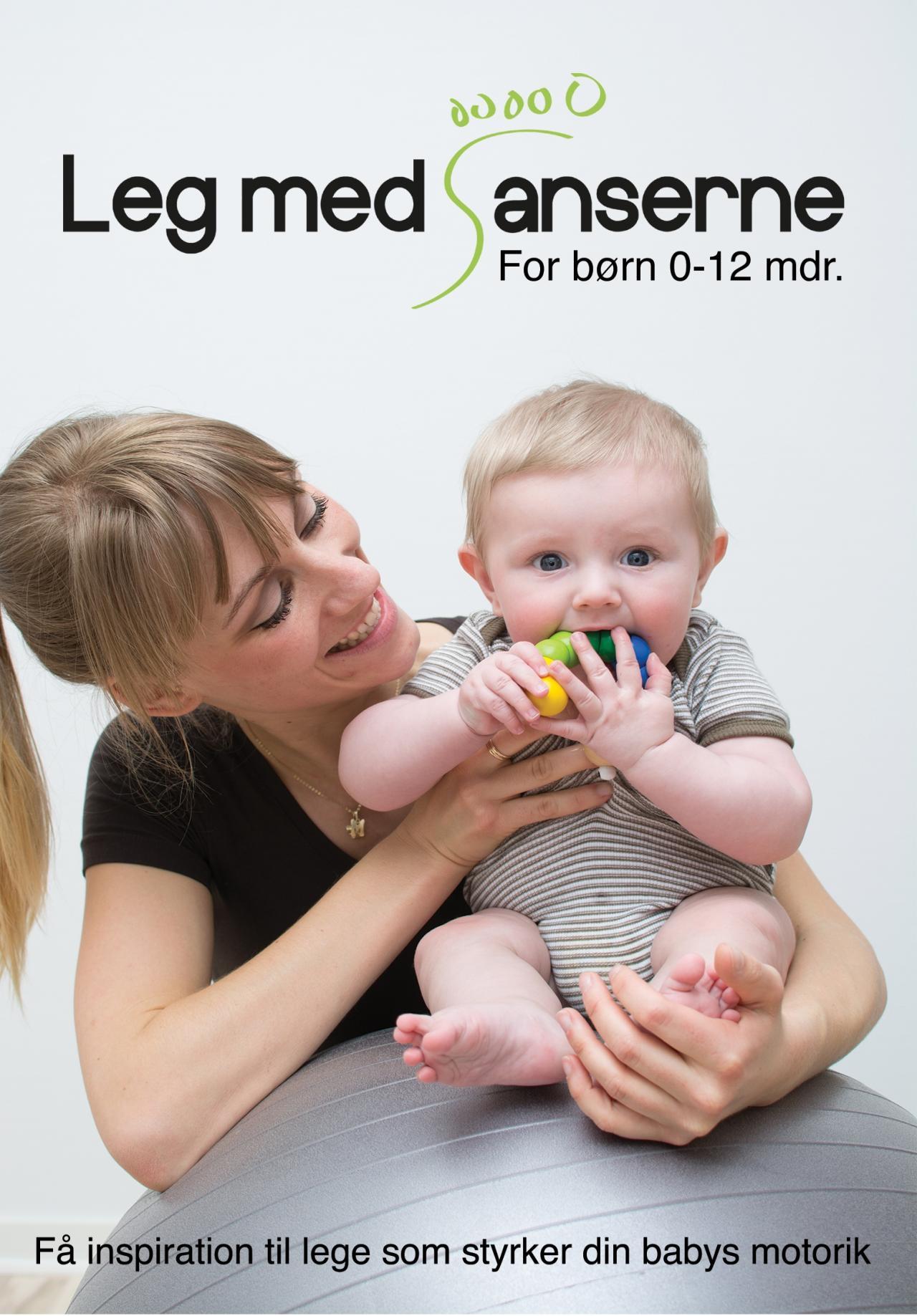 Image of   Leg med sanserne - Babygymnastik