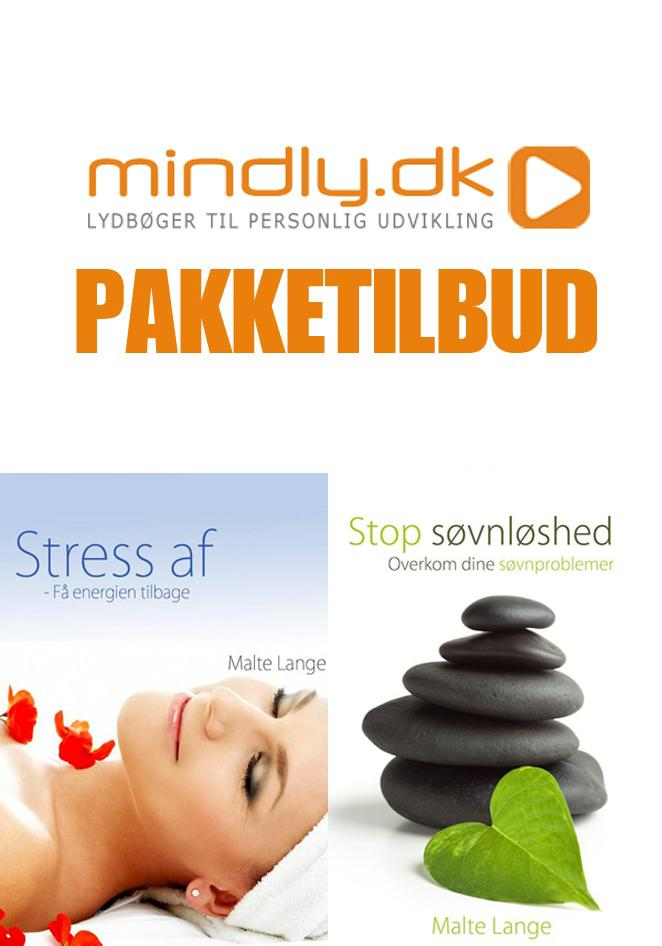 Bevidsthed, krop & sjæl Stop søvnløshed + Stress af (Pakketilbud)