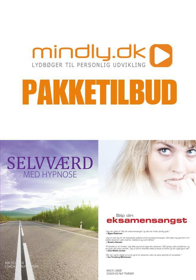 Image of   Selvværd med hypnose + Slip din eksamensangst (Pakketilbud)