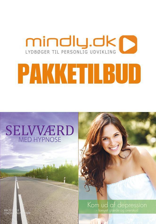 Image of   Selvværd med hypnose + Kom ud af din depression (Pakketilbud)
