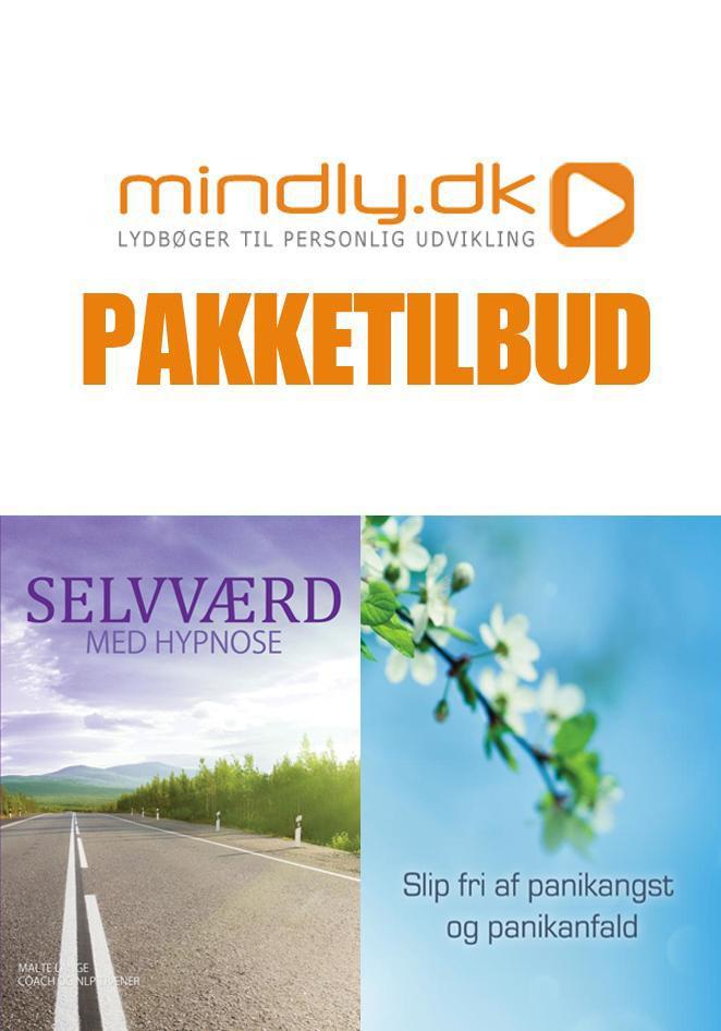 Image of   Selvværd med hypnose + Slip fri af panikangst og panikanfald (Pakketilbud)