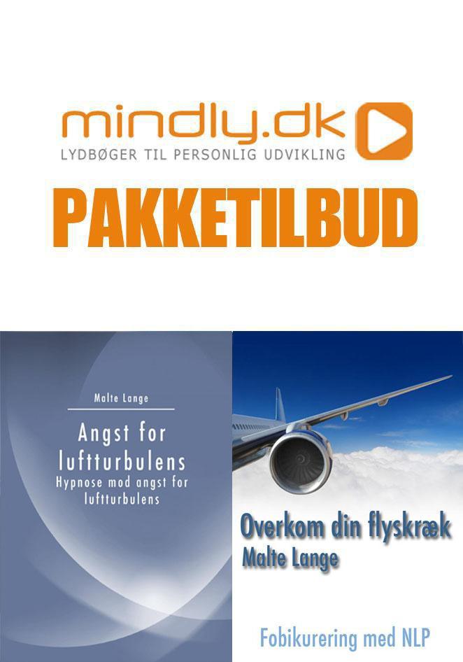 Billede af Overvind din flyskræk + Angst for luftturbulens hypnose (Pakketilbud)