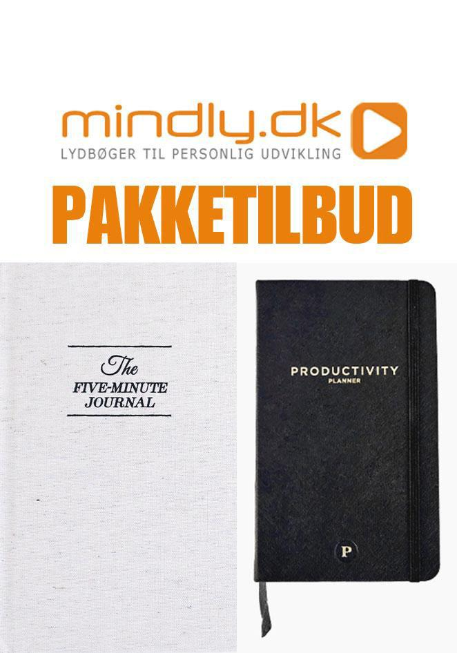 Image of   5 Minute Journal + Productivity Planner (Pakketilbud)