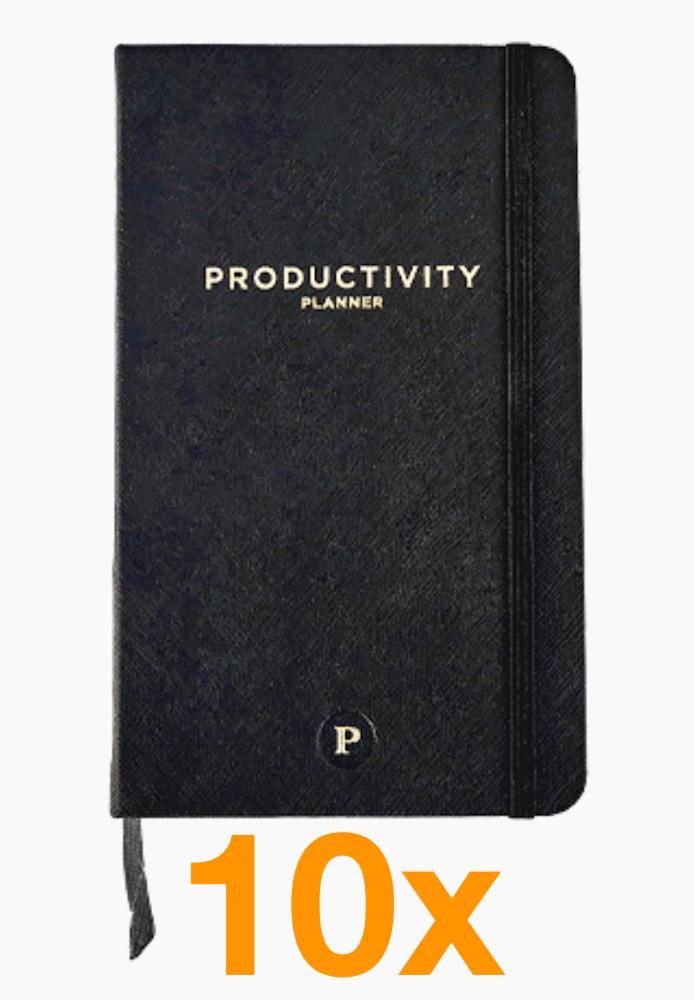 Image of   10 x Productivity Planner (Pakketilbud)