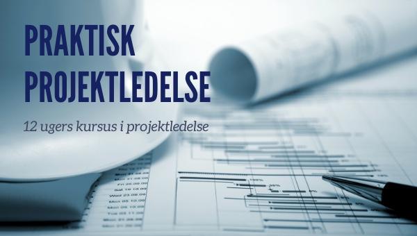 Image of   Praktisk Projektledelse - 12 ugers kursus